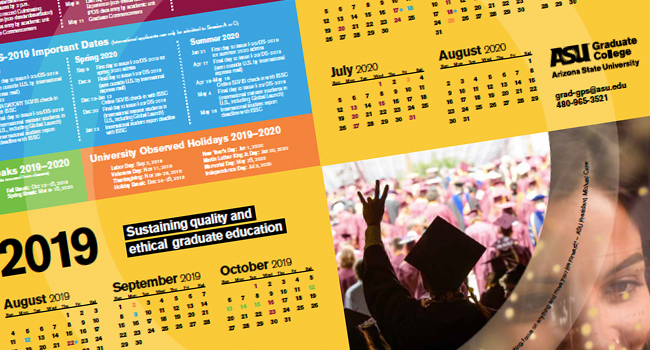 Asu Calendar 2020 Provost Communications Work Examples | Office of the University
